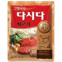 CJ 쇠고기 다시다 골드 100g