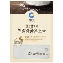 청정원 신안섬보배 천일염 굵은소금5kg