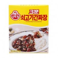 오뚜기 3분 쇠고기간짜장 200g