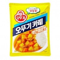 오뚜기 카레가  약간매운맛 1kg