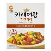 청정원 카레여왕 치킨카레 160g