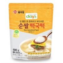 종가집 순쌀 떡국떡 500g