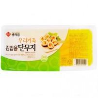 종가집 우리가족 김밥단무지 400g