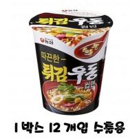 농심 튀김우동 컵 62g x 12