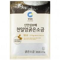 청정원 신안섬보배 천일염 굵은소금 2,5kg