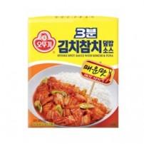 오뚜기 3분 김치참치 덮밥 소스 150g