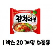 삼양 김치라면 1박스