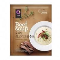 청정원 우리쌀 쇠고기 수프