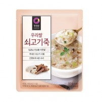 청정원 우리쌀 쇠고기 죽