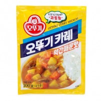 오뚜기 카레가루 약간매운맛 100g