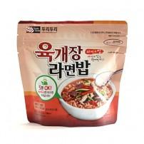 두리두리 육개장 라면밥