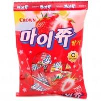 크라운 마이쮸 딸기 92g