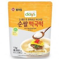 종가집 순쌀 떡국떡 1kg