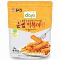 종가집 순쌀 떡볶이떡 1kg