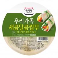 종가집 우리가족 새콤달콤 쌈무 340g