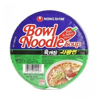 NS Spicy and Hot Noodle Bowl